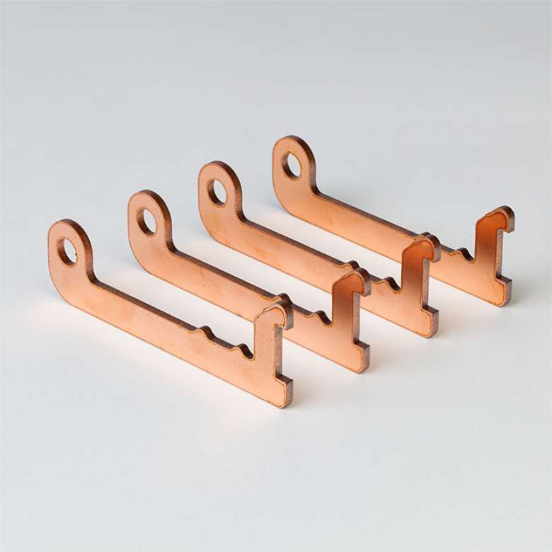 Kupfer Laserteil B