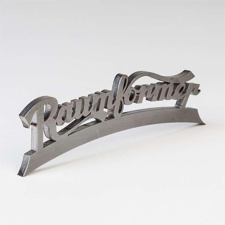 Logobeschriftung Raumformer